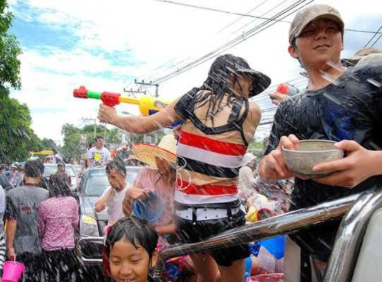 Songkran, the Thai New Year and its water battles