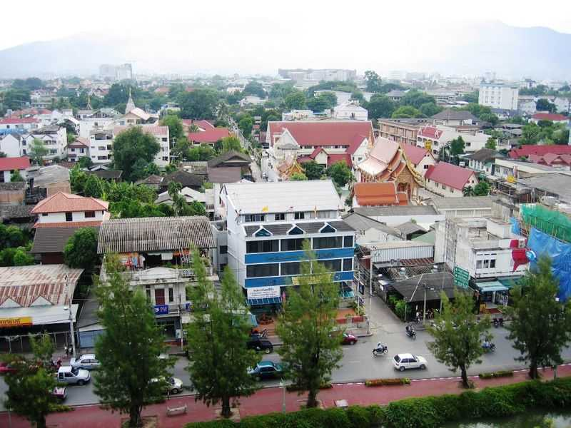 The old town of Chiang Mai