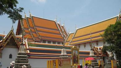 Photo of Wat Pho, templo del Buda que yace en Bangkok