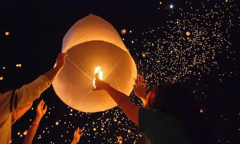 Photo of Loi Krathong, the festival of lights in Thailand