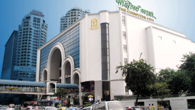 Photo of Pantip Plaza, the IT bazaar in Bangkok