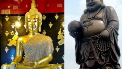 Photo of Representation of Buddha, the fat and the skinny