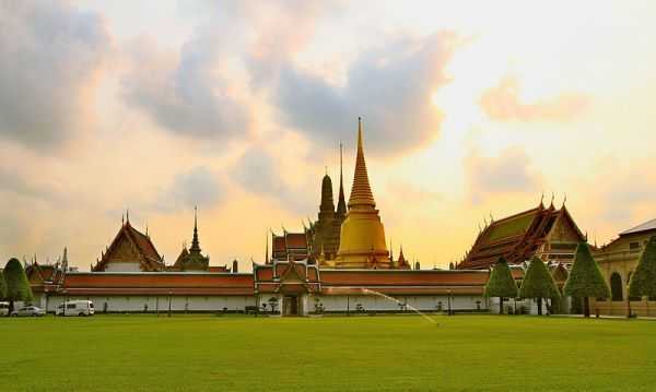 The Grand Palace (Royal Palace) and the Emerald Buddha in Bangkok