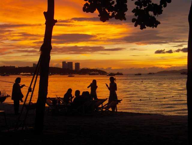 Sunset in Pattaya