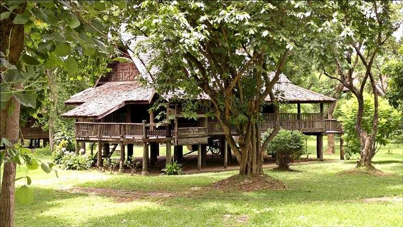 Traditional Thai houses