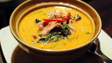 "Photo of Red curry chicken ""Kaeng phed kai"", the easy recipe"