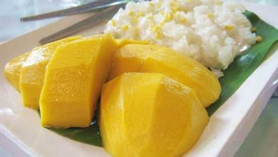 Photo of Sticky rice with mango and coconut milk: Khao Niao Ma Mouang
