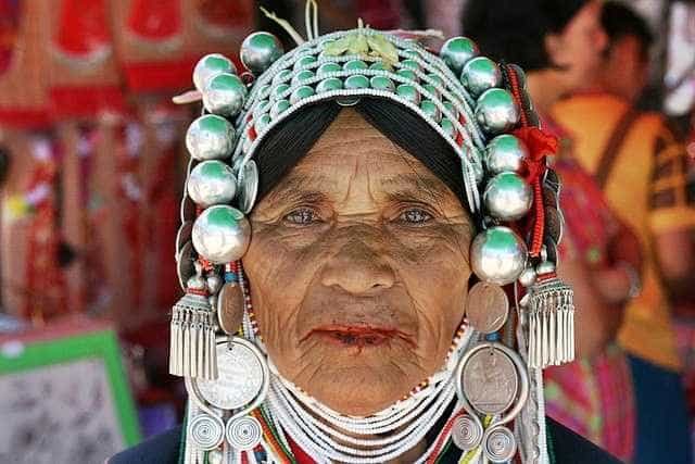 The Akha hill tribe in Thailand
