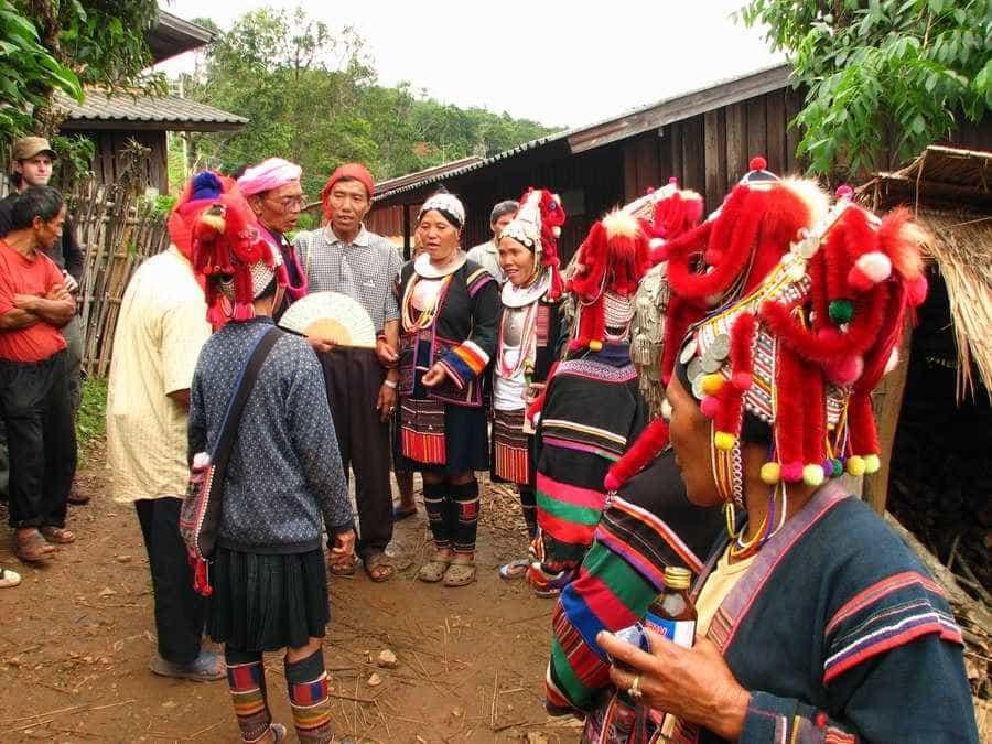 Los Akha, una tribu de montaña en Tailandia