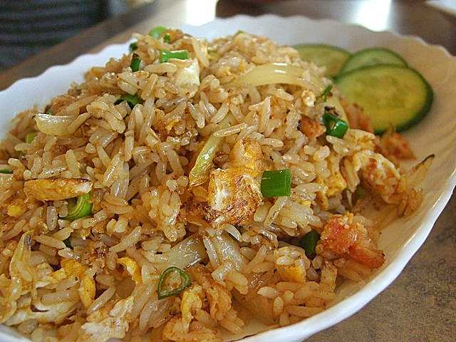 The Thai Fried Rice Recipe, the Khao Pat (ข้าวผัด)