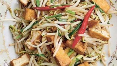 Photo of Stir-fried tofu with soya sprouts: the recipe